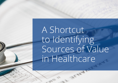 Identifying Sources of Value in Healthcare